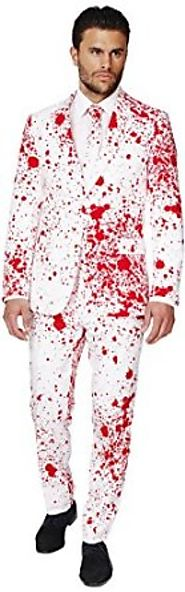 OppoSuits Men's Bloody Harry Party Costume Suit
