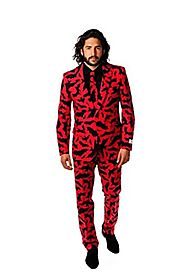 OppoSuits Men's Bat Guy Party Costume Suit