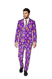 OppoSuits Men's El Muerto Party Costume Suit
