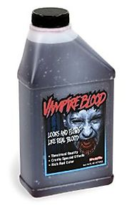 Pint of Blood; Halloween, Vampire Blood; 16 Oz