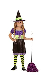 "03894 | 03895 - ""WITCH"" (dress, hat)"