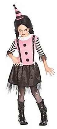 Goth Clown Costume