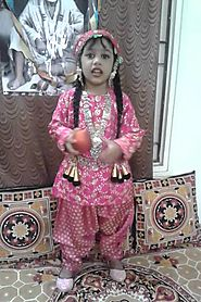 Twinkle kashmiri girl fancy dress
