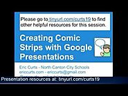 Creating Comic Strips with Google Presentations 2012-05-02