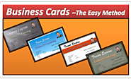Create Business Cards that look Fantastic in Minutes - PowerPoint 2010 - Online PC Learning
