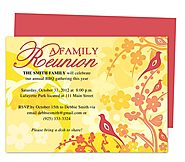 Haven Reunion Party Invitation Template
