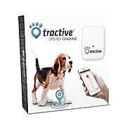 Tractive GPS Pet Tracker, 2.0 by 1.6 by 0.6-Inch