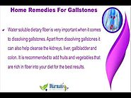 Home Remedies For Gallstones That Help To Relieve The Symptoms