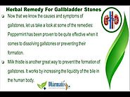 Gallstones Natural Remedy To Remove Gallbladder Stones Effectively