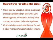 Natural Cures For Gallbladder Stones To Pass Gallstones Effectively