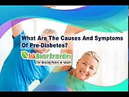 What Are The Causes And Symptoms Of Pre-Diabetes?