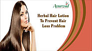 Herbal Hair Lotion To Prevent Hair Loss Problem