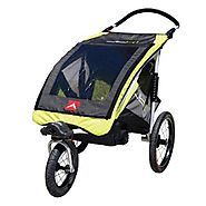 Allen Sports JTX-1 Trailer/Swivel Wheel Jogger