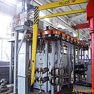 Pass-Through Monorail Blasting Machine