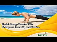 Herbal Energy Booster Pills To Improve Immunity and Stamina