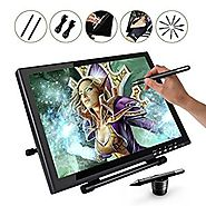 Ugee UG1910 19 Inches Digital Pen Display Drawing Monitor with 2 Original Rechargeable Pens, 2 Charging Lines,1 Drawi...