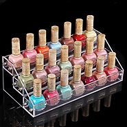3 layers 21 Bottles Acylic Nailpolish Display