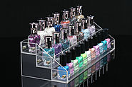 3 layers 25 bottles Acylic Nailpolish Display