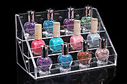 3 layers 12 Bottles Acylic Nailpolish Display