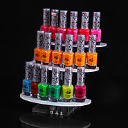 3 Tiers Demoutable Rotating Nailpolish Display
