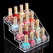 4 Layers 16 Bottles Acylic Nailpolish Display