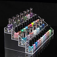 4 layers 36 Bottles Acylic Nailpolish Display