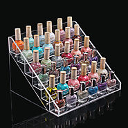 6 Layers 36 Bottles Acylic Nailpolish Display