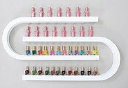 U shape Metal Nailpolish Display