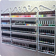 Multi-Layers Naipolish Display Cosmetic Shelf