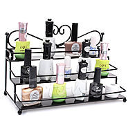 Three Tiers Countertop Metal Nailpolish Display