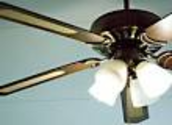 Leaving a ceiling fan on when a room is unattended will cool the room temperature