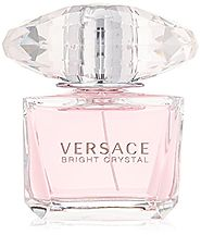 Versace Bright Crystal for Women, Eau De Toilette Spray, Pink, 3 oz