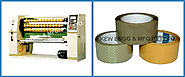 BOPP Tape Slitting Rewinding Machine, Adhesive Sitting