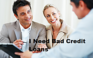 I Need Bad Credit Loans – A Immediate Financial Support within One Hour