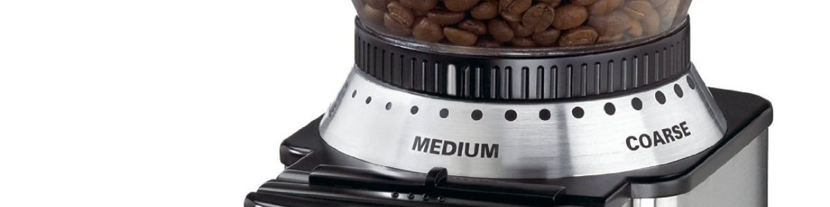 Headline for 10 Best Coffee Grinders for Espresso Beans Reviews