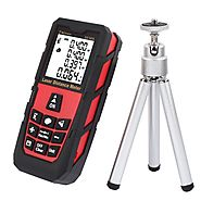 DMiotech Laser Distance Measure 328ft 100m Mini Handheld Digital Laser Distance Meter Rangefinder