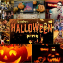 Halloween celebration in London City