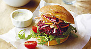 Hamburgers with Beetroot
