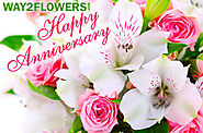 Make Your Day Special with the Unique Anniversary Flowers Online by Way2flowers