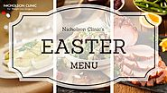 Nicholson Clinic Approved Bariatric Easter Menu