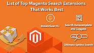 List of Top Magento Search Extensions That Works Best