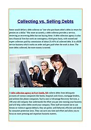 Collecting vs selling debts