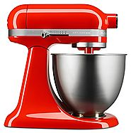 Chef's Stand Mixer Review of Hot Sauce Red Artisan Mini Mixer