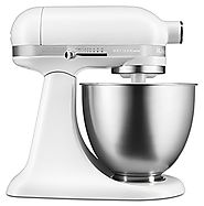 Chef's Stand Mixer Review for Matte White Artisan Mini Mixer
