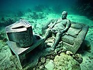Cancun Underwater Museum, Cancun, Mexico