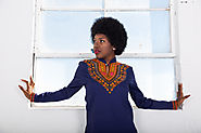 KITENGE WOMEN'S TOP