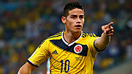 James Rodríguez - £63m - Monaco To Real Madrid -2014
