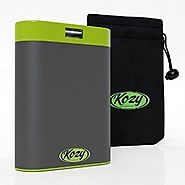 Kozy 7800mAh Rechargeable Hand Warmer provides Comfortable, Soothing Warmth for Hours, Includes Bonus Warmer Pouch, U...