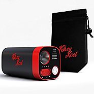 Kozy Xcel 10,400mAh Rechargeable Hand Warmer Provides Comfortable,Soothing Warmth for Hours from its Powerful Lithium...