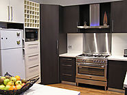 Highly Customised Kitchen Cabinets at All Domestic Cabinets